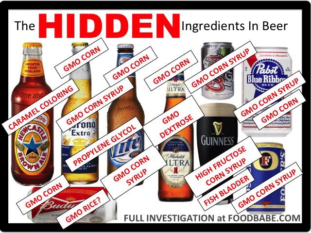 Hidden Ingredients in Beer - EndAllDisease