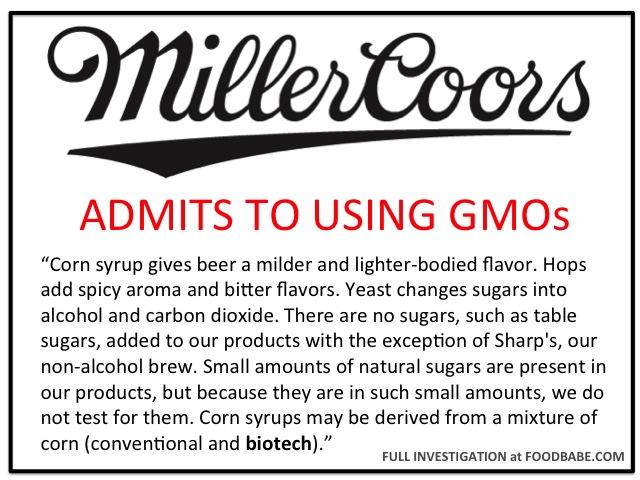 Miller Coors GMO