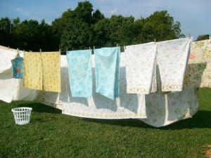 Sheets Clothes Line - EndAllDisease
