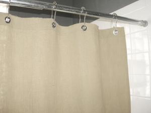 Organic Hemp Shower Curtain - EndAllDisease