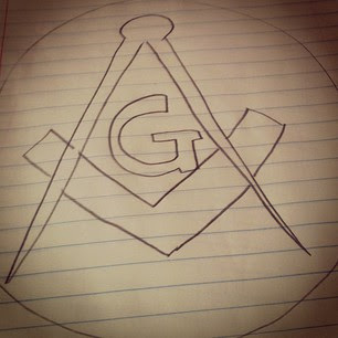 The symbol of Freemasonry.
