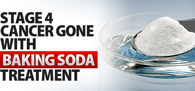 Stage 4 Cancer Gone With Baking Soda Treatment