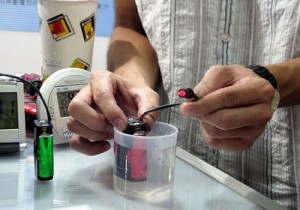Chlorophyl Organic Batteries