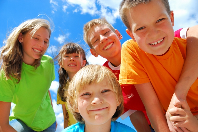 smiling kids - endalldisease