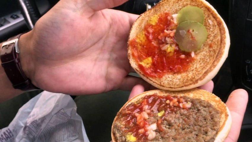 Mcdonalds nasty food