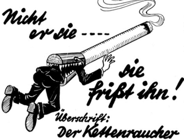 hitler anti-tobacco