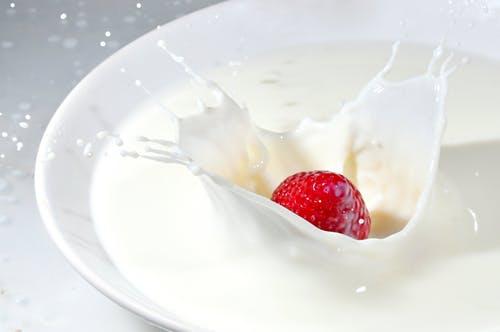 Milk splash lactose intolerants can drink milk