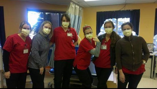 More Than 22,000 Brave Nurses Refusing to Submit to Mandatory Vaccinations Nurses-facemasks