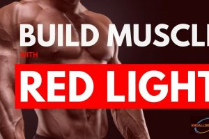 how to build muscle with red light therapy